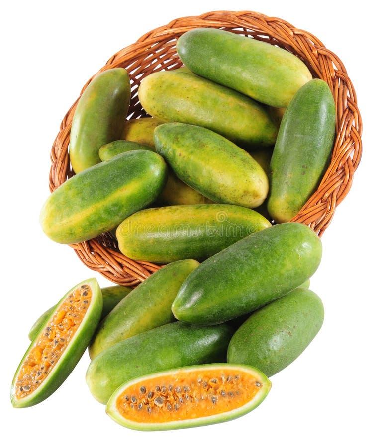 Het fruit van de berg. Guave stock afbeelding