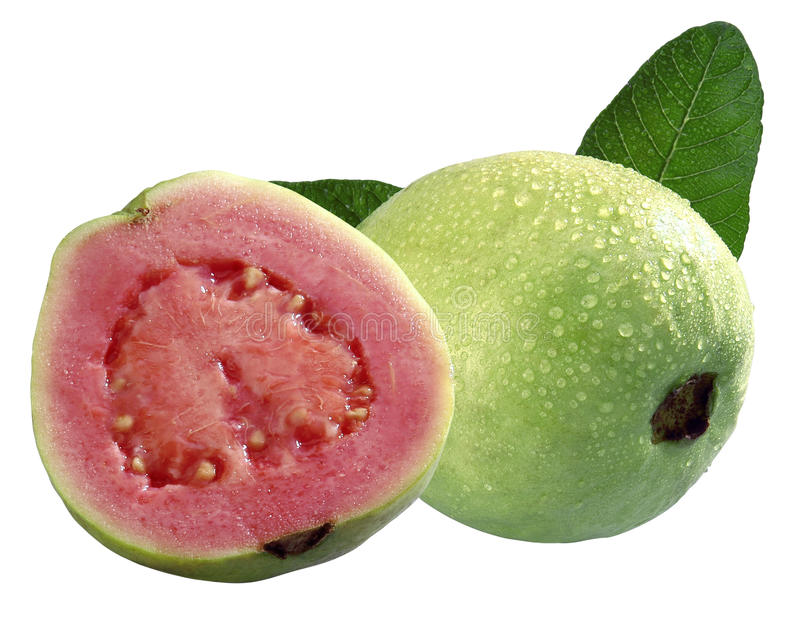 Het Fruit van de guave stock foto's