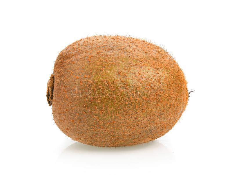Het fruit van de kiwi op witte achtergrond stock foto