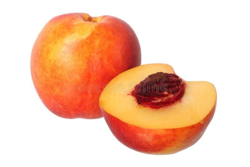 Het fruit van de nectarine royalty-vrije stock afbeeldingen