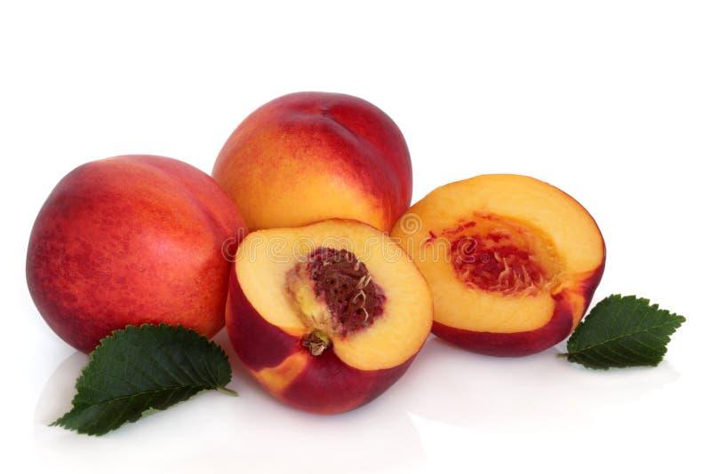 Het Fruit van de nectarine stock foto's