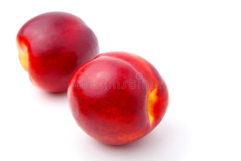 Het fruit van de nectarine royalty-vrije stock foto