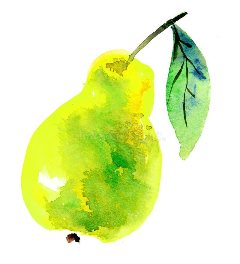 Het fruit van de peer royalty-vrije illustratie