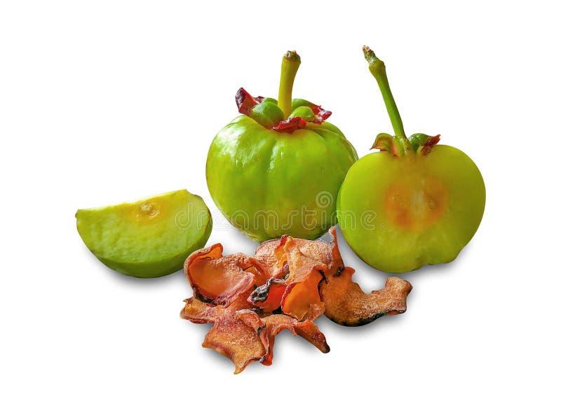 Het fruit van Garciniaatroviridis royalty-vrije stock foto's