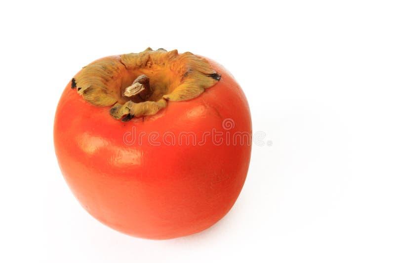 Het fruit van het kaki (kaki Diospyros) stock fotografie