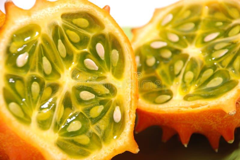 Het fruit van Kiwano royalty-vrije stock afbeelding