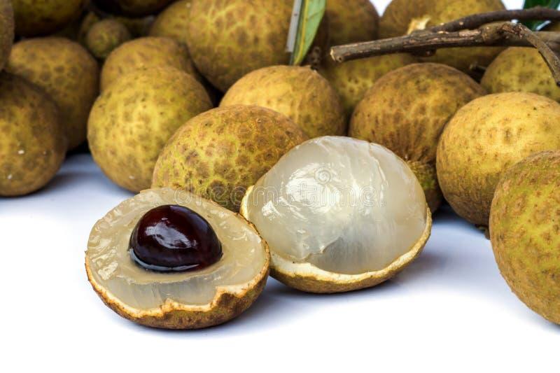 Het fruit van Longan stock foto's