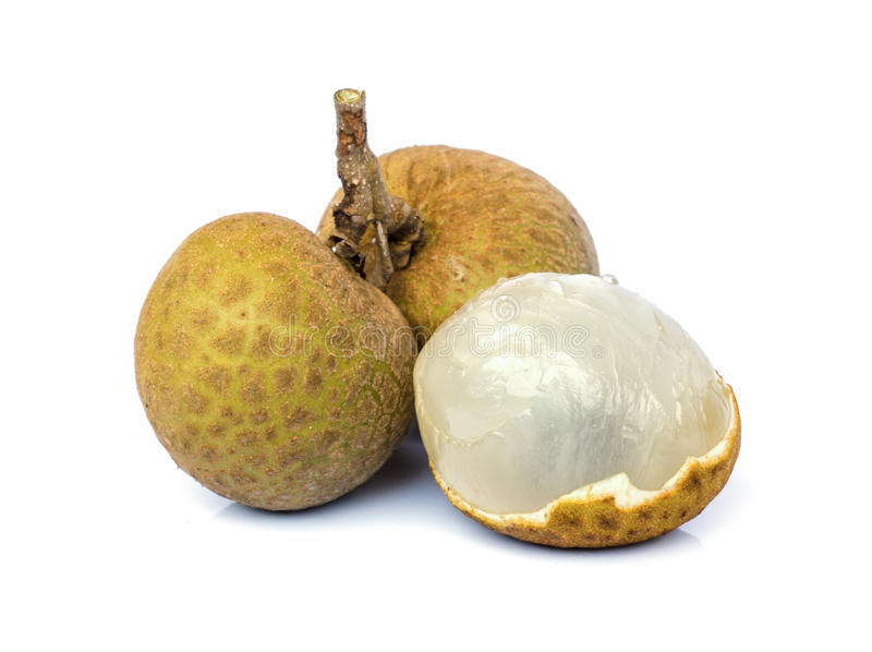 Het fruit van Longan stock afbeelding