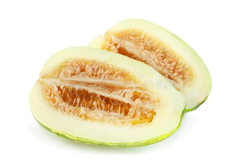 Het fruitmanduria van de meloenkomkommer stock fotografie