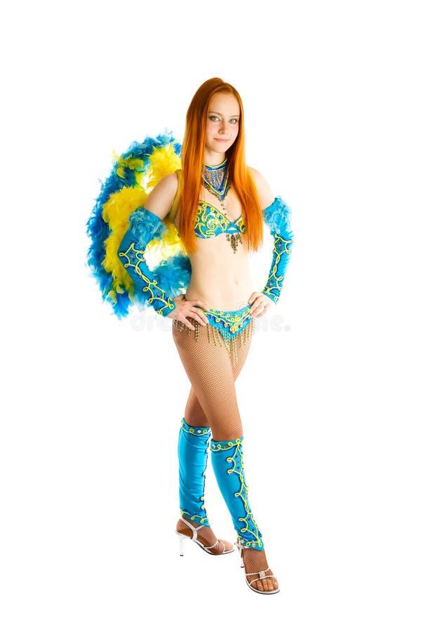 Het gaan naar Carnaval royalty-vrije stock foto's