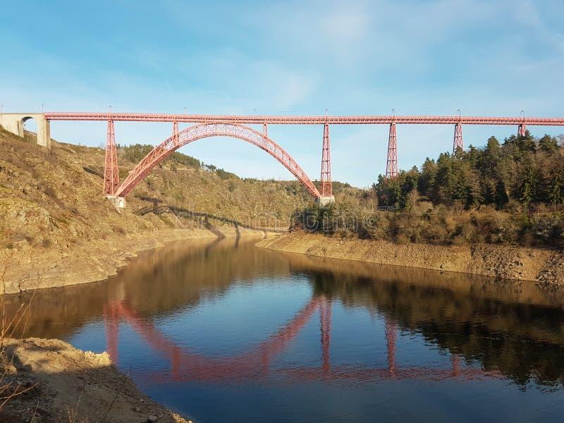 Het Garabit-Viaduct royalty-vrije stock foto's