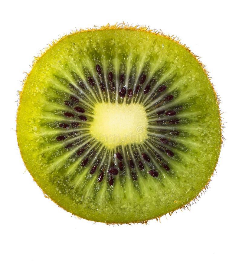 Het geïsoleerded fruit van de Kiwi royalty-vrije stock foto's