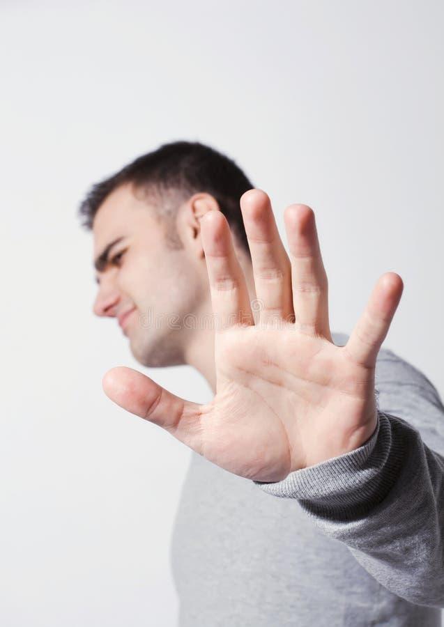 Het gebaar van de ontkenning