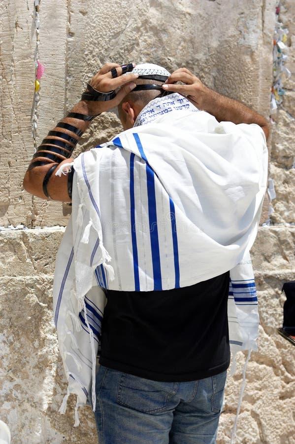 Het gebed stock foto
