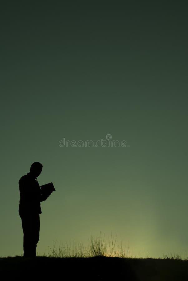 Het gebed stock afbeeldingen