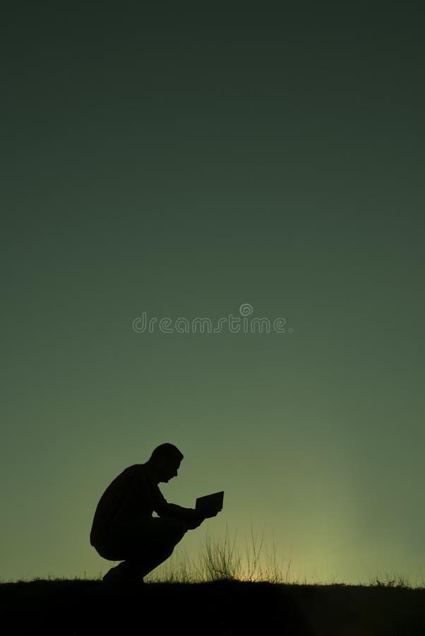 Het gebed stock fotografie