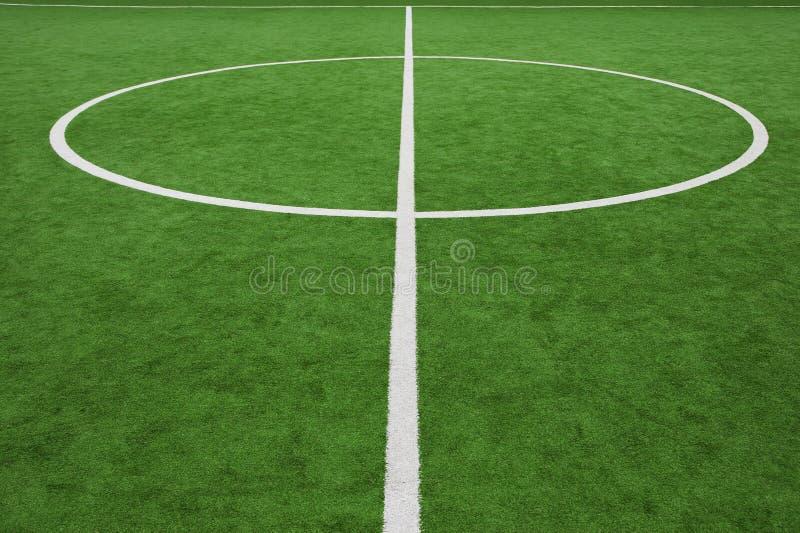 Het gebied, het centrum en de nevenactiviteit van het voetbal royalty-vrije stock afbeeldingen