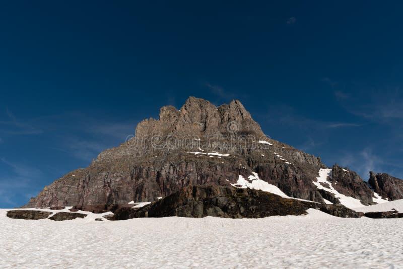 Het Gebied van Clements Mountain en van de Sneeuw royalty-vrije stock fotografie