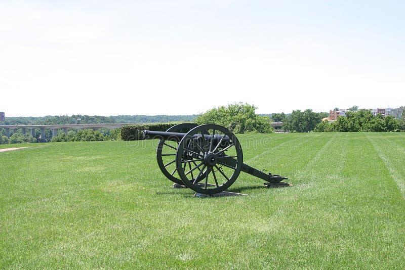 Download Het gebied van de canon stock foto. Afbeelding bestaande uit oorlog - 34136