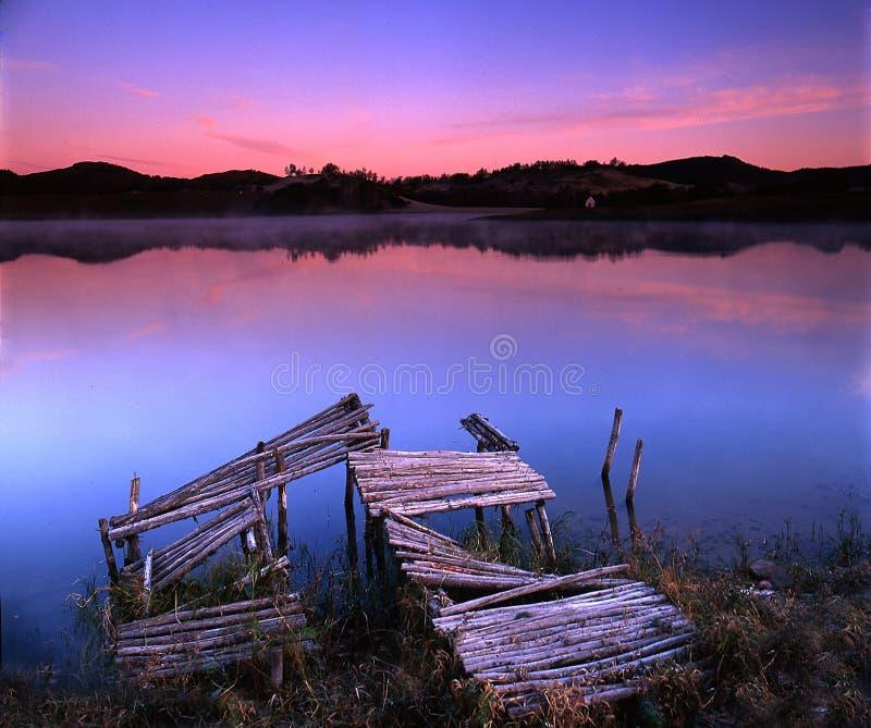 Het gebied van de herfst stock fotografie