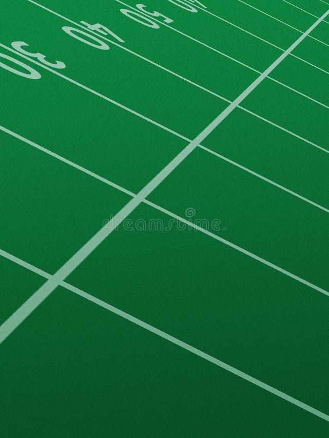 Het gebied van de voetbal stock foto's