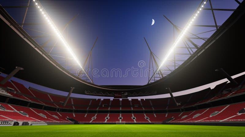 Het gebied van de voetbal vector illustratie