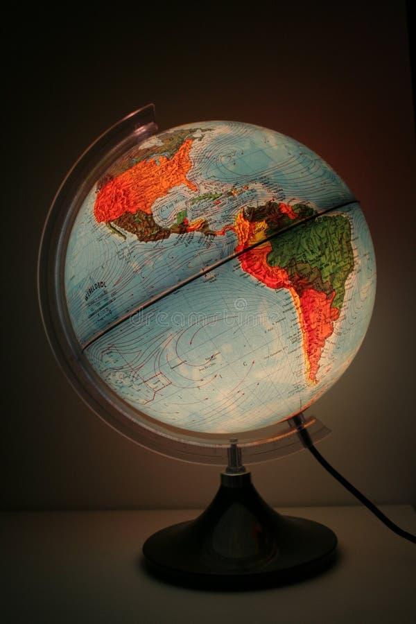 Wereldgebied royalty-vrije stock afbeelding