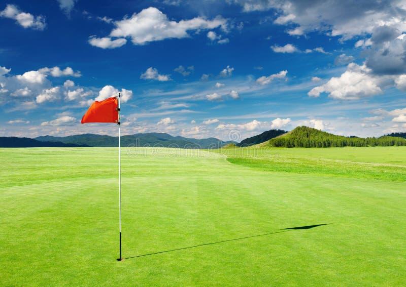 Het gebied van het golf royalty-vrije stock afbeeldingen