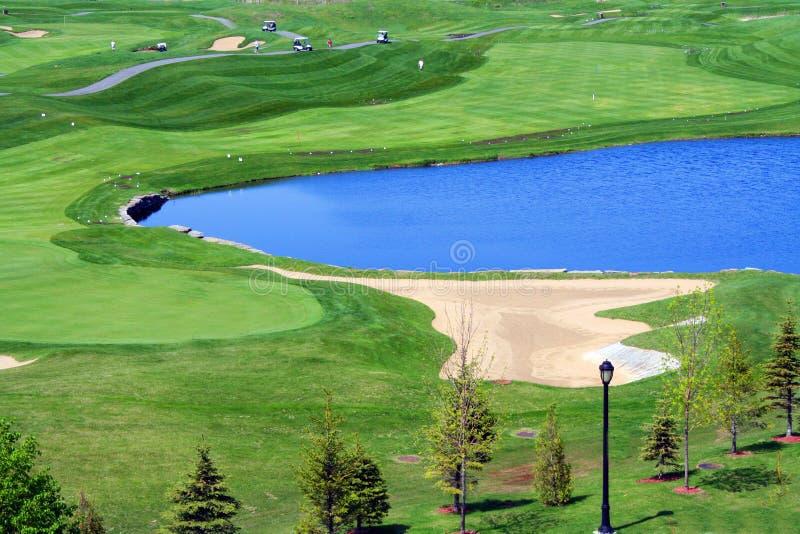 Het gebied van het golf. royalty-vrije stock afbeelding
