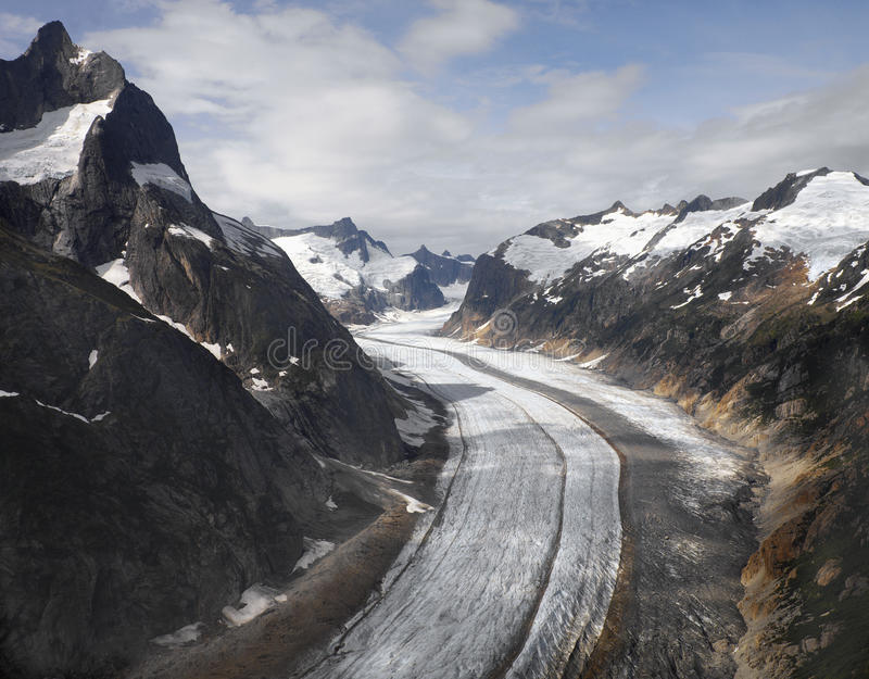 Het gebied van het Juneauijs - Alaska - de V.S. royalty-vrije stock foto's