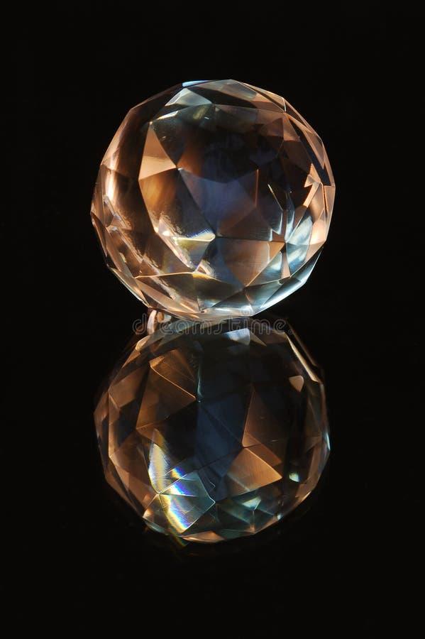 Het gebied van het kristal royalty-vrije stock afbeeldingen