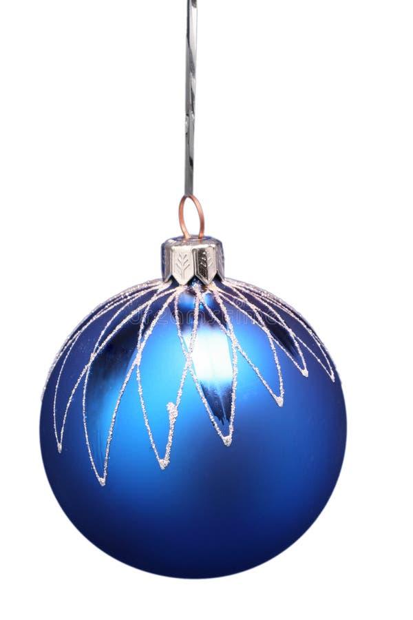 Het gebied van het nieuwjaar van blauwe kleur met een patroon 3 royalty-vrije stock fotografie