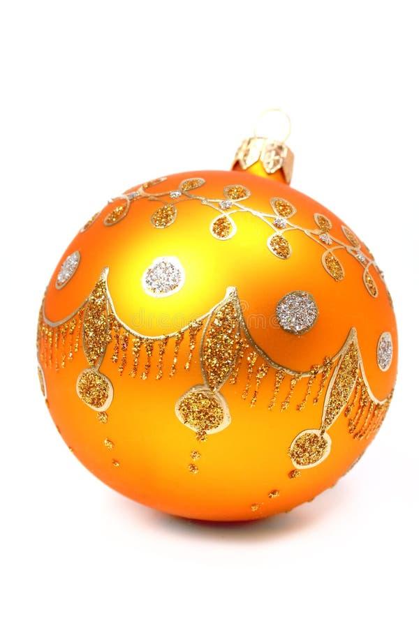 Het gebied van het nieuwjaar van oranje kleur stock afbeelding