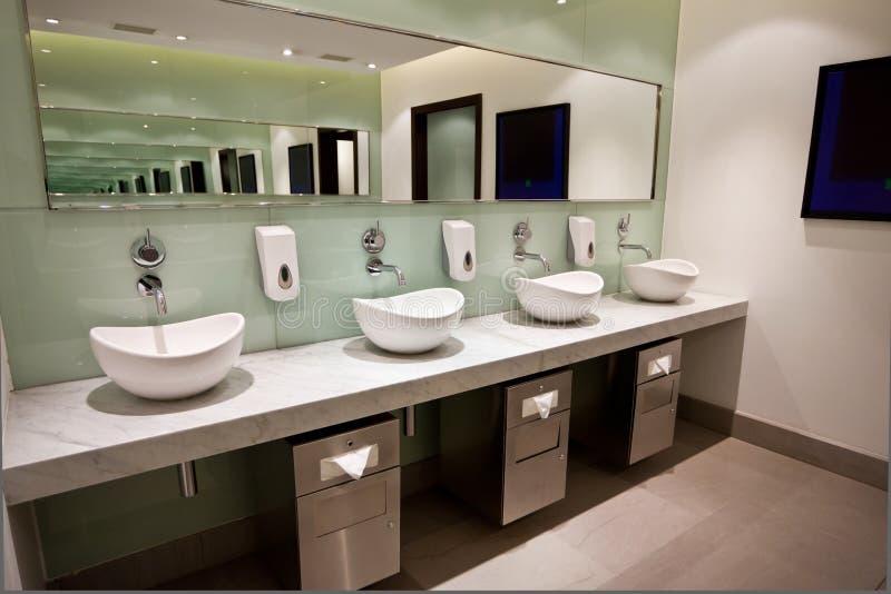 Het Gebied van het toilet stock foto's