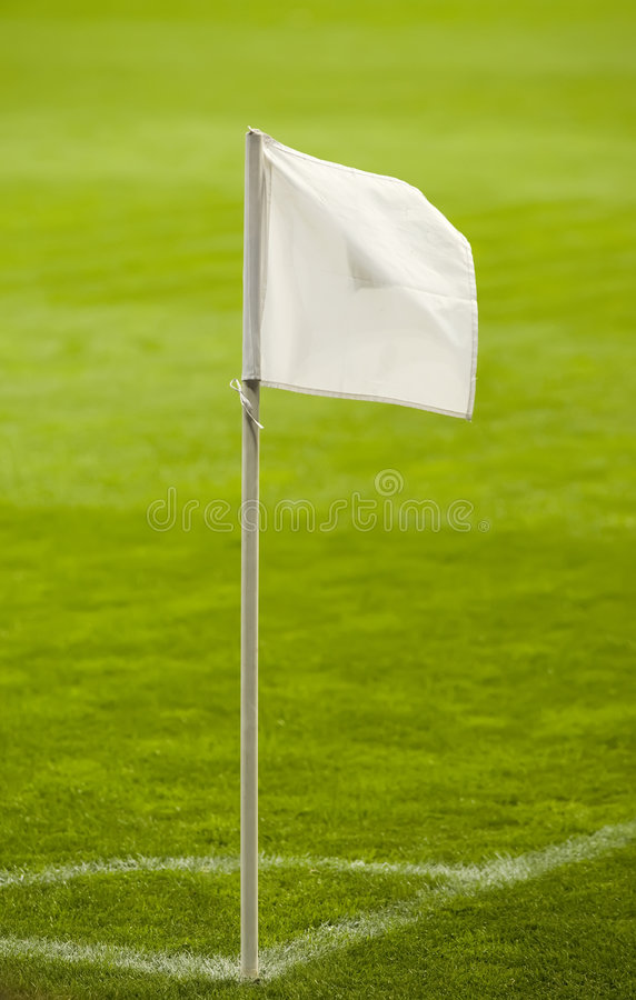 Het Gebied van het voetbal royalty-vrije stock afbeeldingen