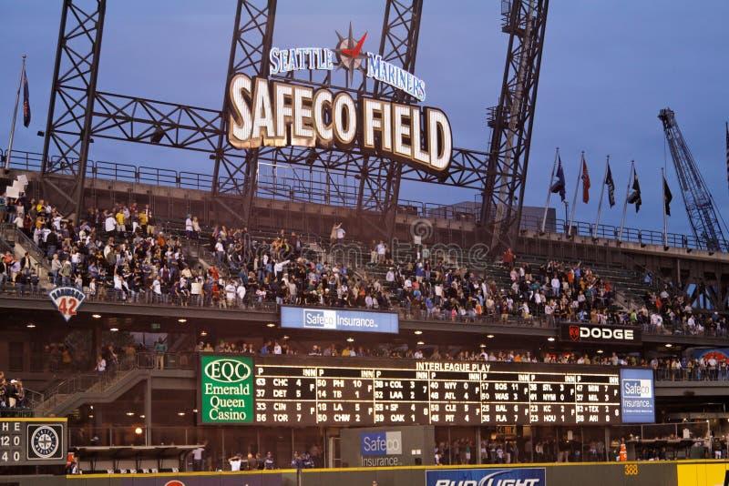 Het Gebied van Safeco royalty-vrije stock fotografie