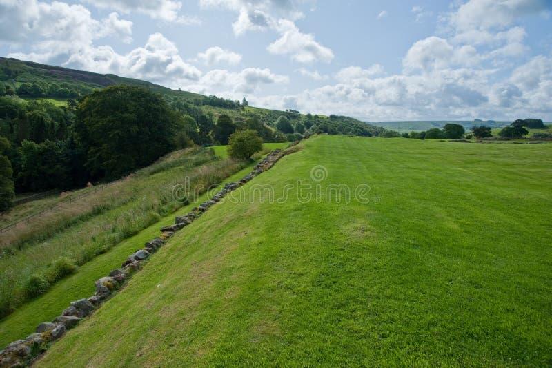 Het gebied van Vindolanda royalty-vrije stock afbeelding
