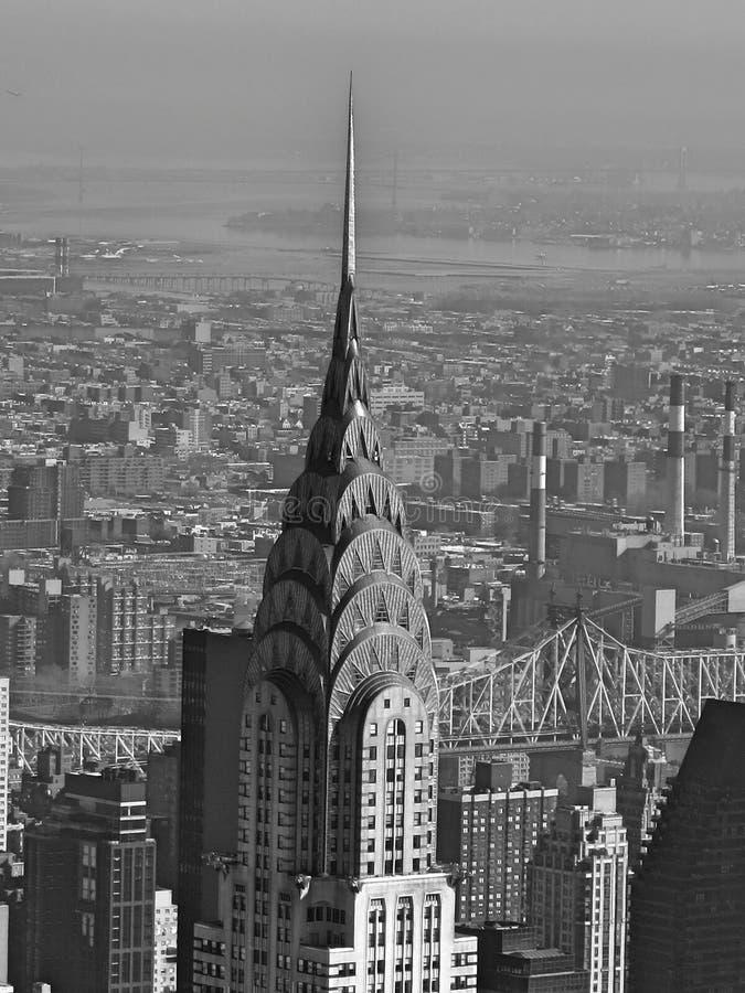 Het gebouw Chrysler stock foto's