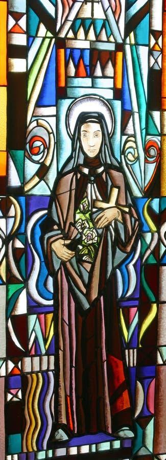 Download Het Gebrandschilderd Glas Van Heilige Elisabeth Stock Foto - Afbeelding bestaande uit kerk, helderheid: 29500320