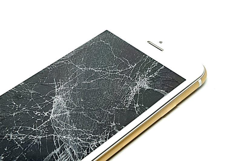 Het gebroken scherm royalty-vrije stock foto