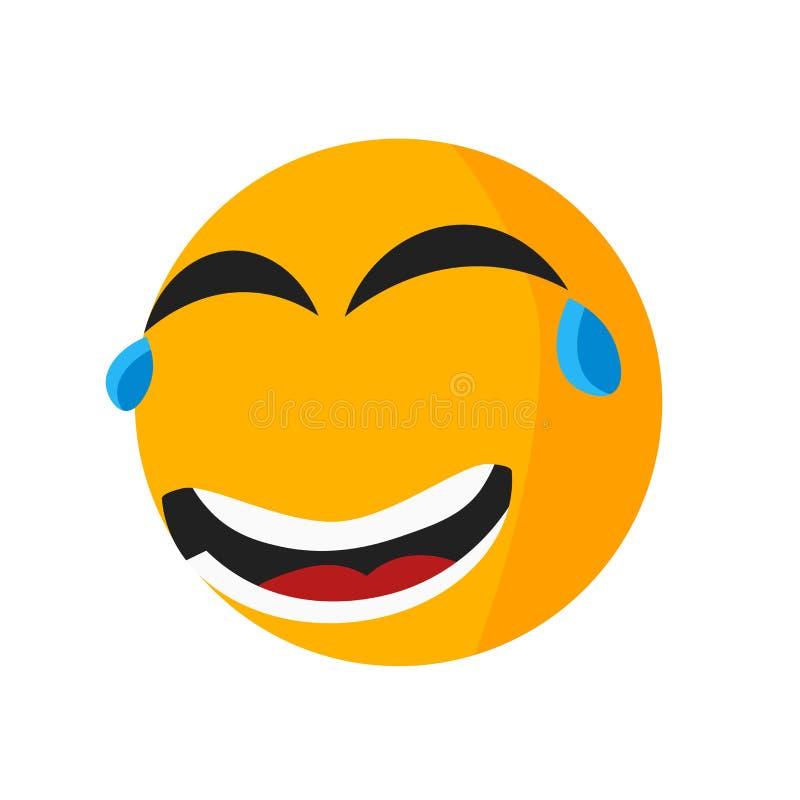 Het gedempte teken en het symbool van het glimlachpictogram vectordie op witte achtergrond, het Gedempte concept van het glimlach vector illustratie