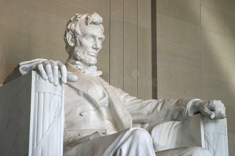Het Gedenkteken of het Monument van Lincoln stock afbeeldingen