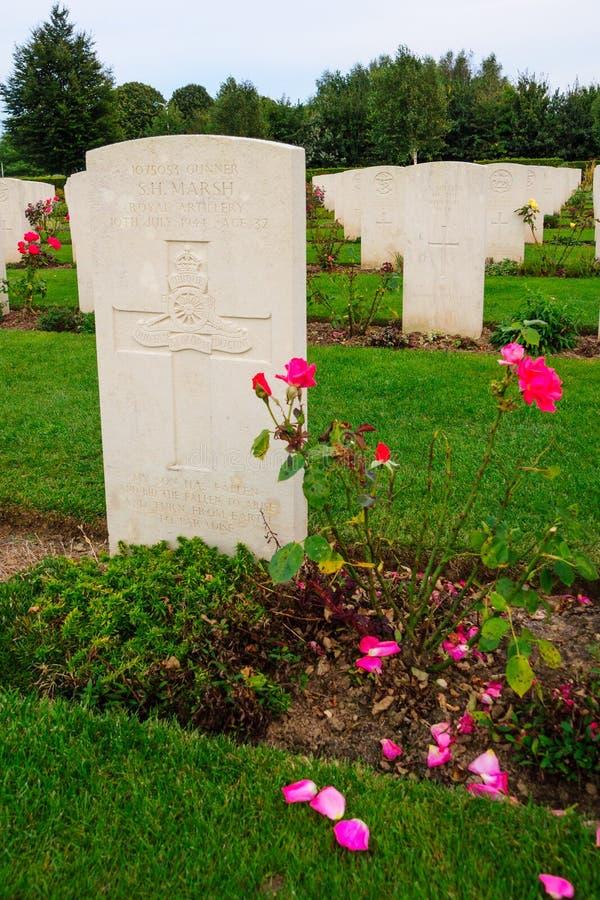Het gedenkteken van Bayeux WO.II royalty-vrije stock fotografie