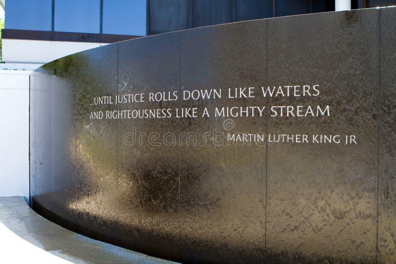 Het Gedenkteken van burgerrechten stock foto