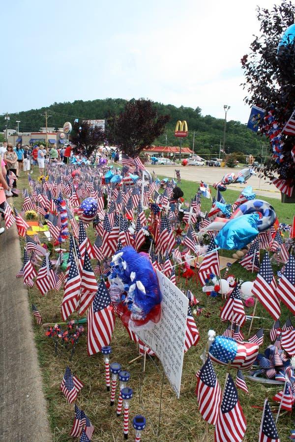 Het gedenkteken van Chattanooga aan de gevallen militairen royalty-vrije stock foto's