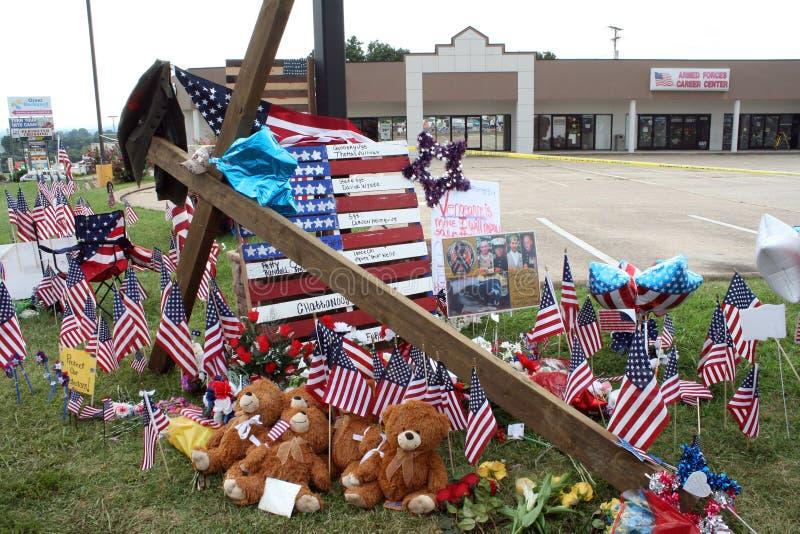 Het gedenkteken van Chattanooga aan de gevallen militairen royalty-vrije stock afbeeldingen