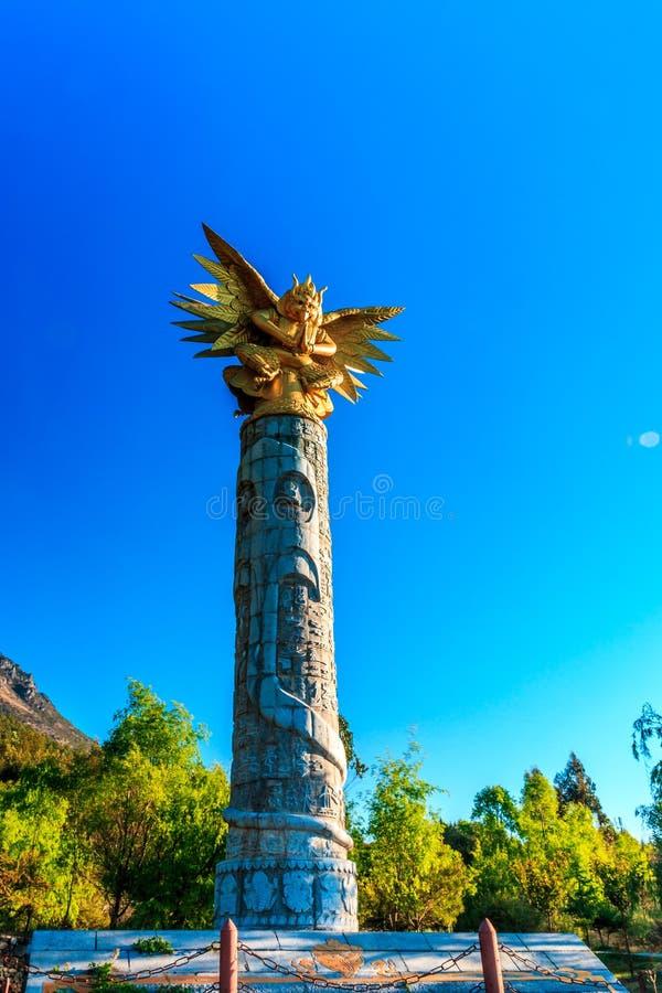 Het Gedenkteken van de Dongbaliteratuur stock foto