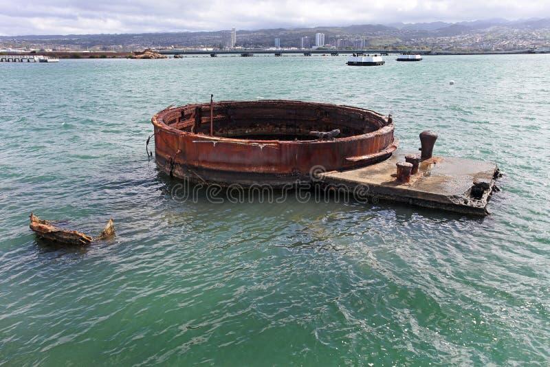 Het Gedenkteken van de Haven van de parel stock afbeelding