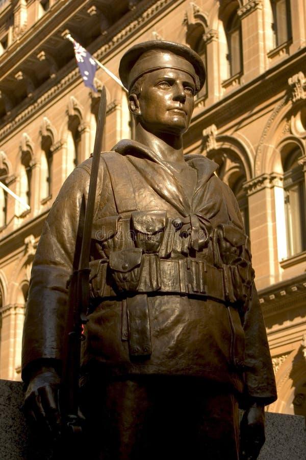 Het gedenkteken van de oorlog, Sydney stock afbeeldingen