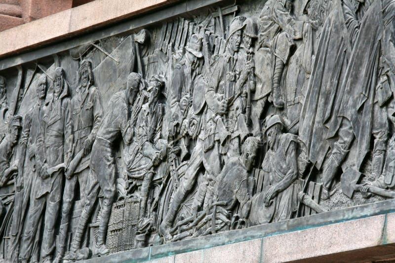 Het Gedenkteken van de Oorlog van Anzac, Sydney, Australië stock afbeelding